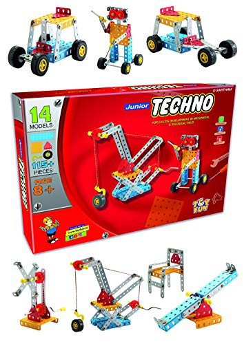 SARTHAM Educational Toys, Building and Construction Set, Junior Techno (Age 8 to 12)
