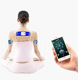Decenas Máquina Músculo Estimuladores Inteligente APP Controlar Inalámbrico Masajeador Pequeño Hogar Digital Meridiano Fisioterapia 8 Modos De Masaje 15 Intensidad Ajustable - Modo De Carga