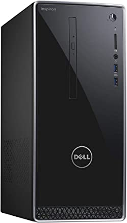 Dell Inspiron High Performance Tower Computer PC (Intel Quad Core i7-7700, 16GB_DDR4 Ram, 128GB_SSD+1TB_HDD,  NVIDIA GeForce GTX_1050, HDMI, WIFI, DVD-RW) Win 10 Pro