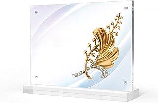Z·Bling Présentoir de Table - A3/A4/A5 Présentoir Vertical de Table Plastique Transparent Parfait pour Les,Les Restaurants...