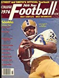 Street & Smith's College Football Yearbook Guide 1976 (Tony Dorsett University of Pittsburgh Cover)