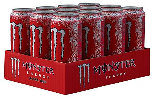MONSTER ENERGY Monster Ultra-12 x 500 ml Rot PMP