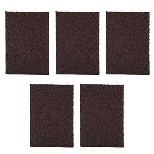 Eddwiin 5 uds cepillo de esponja de esmeril portátil limpiador de borradores de manchas de cocina herramienta de limpieza de óxido