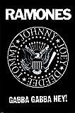 Die Ramones Logo Maxi Poster, Mehrfarbig