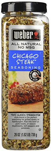WEBER CHICAGO STEAK SEASONING 26 OZ