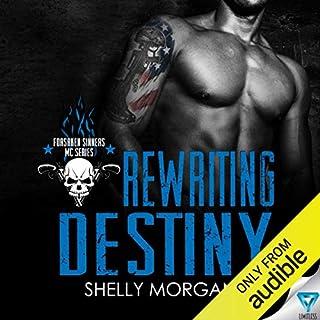 Rewriting Destiny audiobook cover art