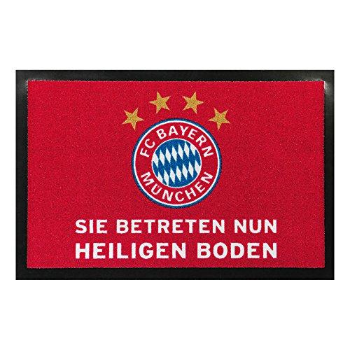 FC Bayern München Fußmatte Heiliger Boden 40x60cm
