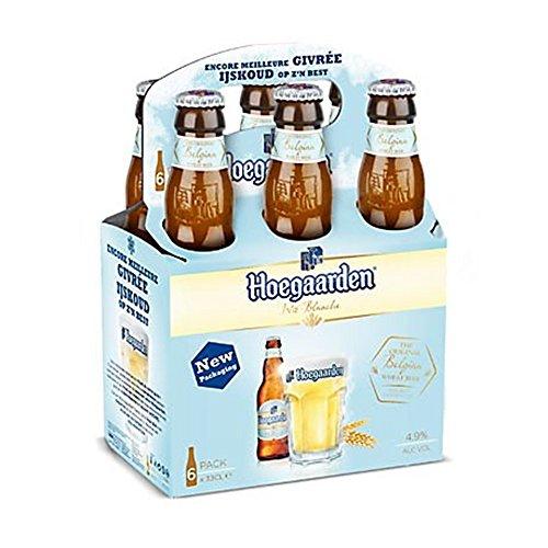 Hoegaarden trigo cerveza de 33 cl (paquete de 24 x 330 ml)