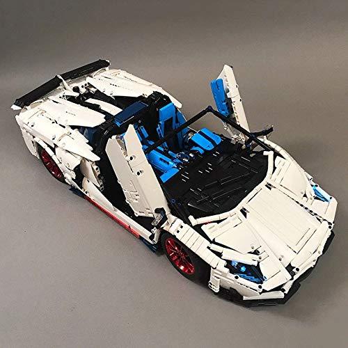 Zenghh Technic Supercar Kit de construcción, 4x4 remoto control del motor eléctrico Drift Car rompecabezas de montaje de automóviles 4WD estática del modelo de escala de carreras de coches de bricolaj