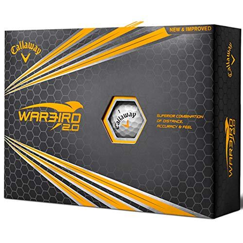 Callaway Warbird 2.0 2018 Golf Balls White (12 Balls)