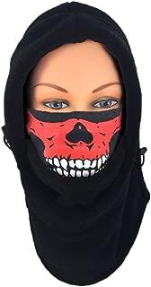 Nova Sport Wear Fleece Balaclava Tube Mask Combo/Hood Skull Neck Gaiter Cold Weather