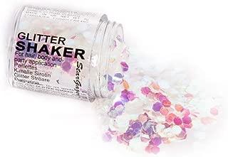 iHeartRaves White Chunky Glitter Shaker (White, One Size)