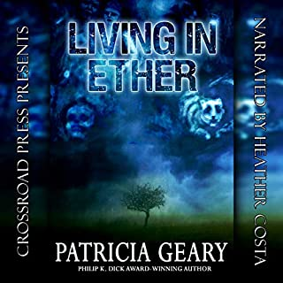 Living in Ether audiobook cover art