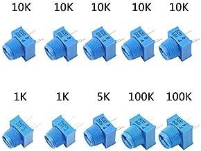 moonWANG Potentiom/ètre en plastique pour joystick 4 axes pour JH-D400X-R4 10K 4D avec fil /à bouton