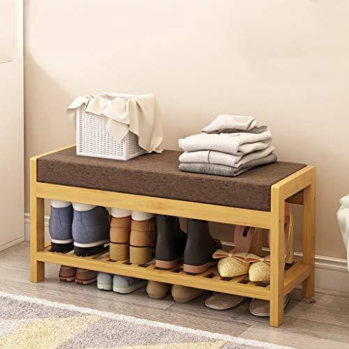 Meubles à chaussures étagère à chaussures en bambou pour organisateurs de rangement pour étagères à chaussures dans les couloirs, les salles de bains, les salons et les couloirs étagère à chaussures