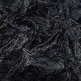Premium Crushed Velvet Stretch Velour Fabric 150cm 59