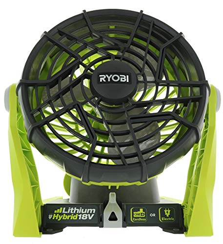 Ryobi P3320 18 Volt Hybrid One+ Battery or AC Powered Adjustable...