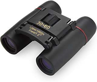Compact Folding 30x60 Binoculars with Protective Carry Case by Grizzly Peak