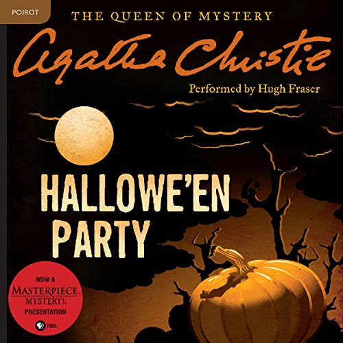 Hallowe'en Party audiobook cover art