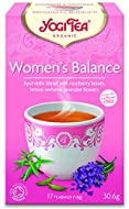 Organic, Caffeine free, Herbal Tea Ayurvedic blend with raspberry leaves, lemon verbena, lavender A balancing formula with a light Meditteranean taste Special Yoga exercises are featured on each package 17 bags individually wrapped teabags