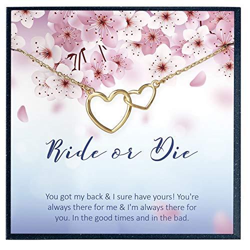 Ride or die necklace