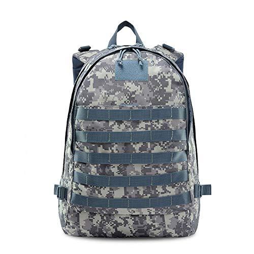 Bhelf Un paquet 3D tactique imperméable à l'eau de camouflage d'épaule d'alpinisme, équipement de voyage de sports de plein air, sac multifonctionnel d'épaules de Battlefield, conception conviviale, r