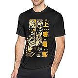 XCNGG Chicos Hombres Camisetas de algodón de Manga Corta Camisetas de Moda de Secado rápido con Cuello Redondo