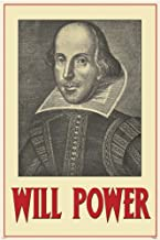 Pyramid Will Power William Shakespeare Poster Print