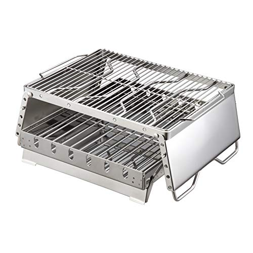 Lowest Prices! Outdoor Stainless Steel Oven Grill, 5-Speed Adjustment Bracket Height 15 Kg Support C...