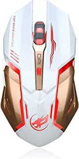 Clearance Sale!JPJ(TM)1Pcs Hot Fashion Rechargeable T1 Wireless Silent Led Backlit USB Optical Ergonomic Gaming Mouse