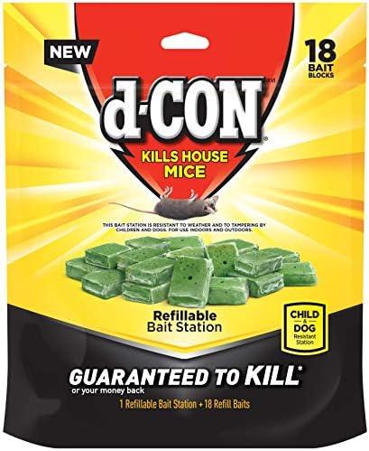 d Con Corner Fit Mouse Poison Bait Station 18 Count product image