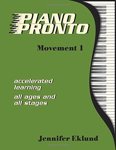 Piano Pronto®: Movement 1