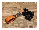 WFBD-CN Ringlicht Handgemachte echtes Leder Kamera Wrist Straps DSLR Hand Lanyard Handschlaufe