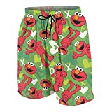 Wangfone Youth Elmo Decorative Pattern Beach Swimming Trunks...
