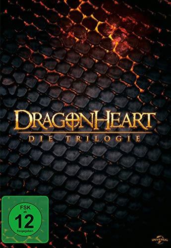 Dragonheart - Teil 1-3 - Die Trilogie (3DVDs)
