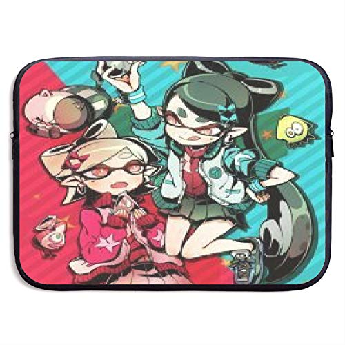 Splatoon Sister Squid Laptop Sleeve Case Compatible for 13 15 Inch MacBook Notebook Computer Tablet Protective Bag