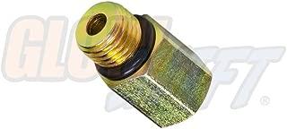 GlowShift 7/16-20 Male to 1/8-27 NPT Female Gauge Sensor Sender Thread Adapter Reducer