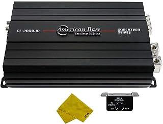 $525 » Sponsored Ad - American Bass Monoblock Car Amplifier – Class D Monoblock Amplifier 2340 Watt RMS, Car Electronics Car Audi...