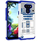 Sunshine-Tech Compatible for LG Harmony 4 / LG K40S / LG Premier Pro Plus, Unique R2D2 Pattern Hard PC and Inner Silicone Hybrid Dual Layer Protective Armor Defender Case Cover for Children Boy Man