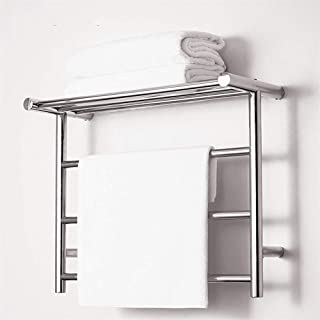 WanZhuanK Toallero radiador, Panel Central con calefacción, radiadores de baño Escalera Radiador Antracita, Cuarto de baño Minimalista, Panel climatizada,Ukplug