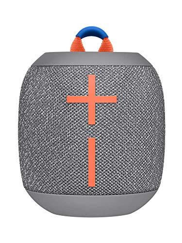 Ultimate Ears Wonderboom 2 Enceintes sans Fil Bluetooth Portables, Basse Profonde , Son Puissant à 360°, Etanche, Flottante, Couplez 2 Enceinte pour un Vrai Stéréo, Batterie Longue Durée 13h - Grise