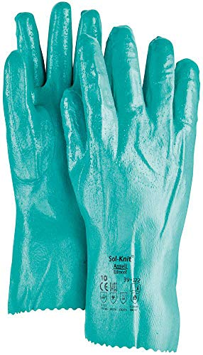 アンセル 耐薬品手袋 アルファテック 39-122 Lサイズ 39-122-9