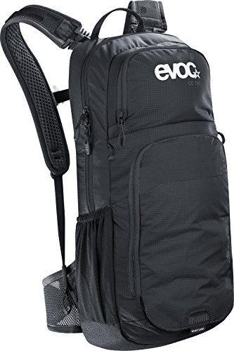 evoc CC 16L + 2L Bladder Performance Rucksack, Black, 50 x 25 x 13 cm, 18 Liter