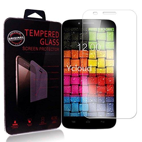 Ycloud Panzerglas Folie Schutzfolie Bildschirmschutzfolie für UMI Emax (5.5Zoll) screen protector mit Festigkeitgrad 9H, 0,26mm Ultra-Dünn, Abger&ete Kanten