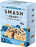 Blueberry Crumble Rice Crispy by SMASHMALLOW | Non GMO | Gluten free | 8 Count