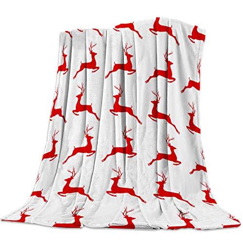 Manta Para Feliz Navidad Elk Blanket 125 X 100CM