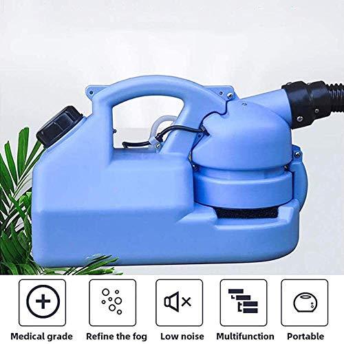LILIS ULV Fogger Sprayer 7L Eléctrico ULV Pulverizador, Pulverizador Portátil Jardín Fogger Máquina De Desinfección De La Máquina del Asesino del Mosquito Fogger Desinfección