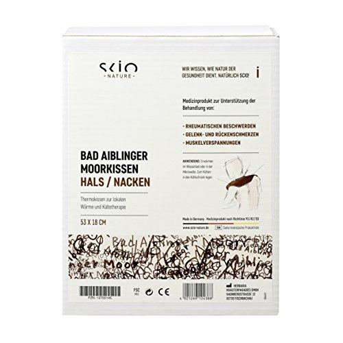 SCIO Bad Aiblinger Moorkissen für den Hals-Nackenbereich 53x18cm, 1400 g