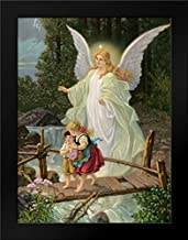 Guardian Angel Framed Art Print by Anonymous