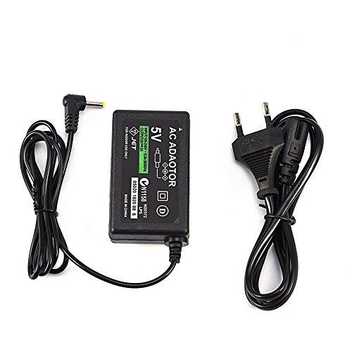 Bewinner Cable de Fuente de Alimentación del Adaptador de CA del Cargador de Pared para PSP 1000/2000/3000(欧规)